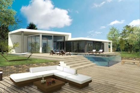 Exemple plan d'architecte 1